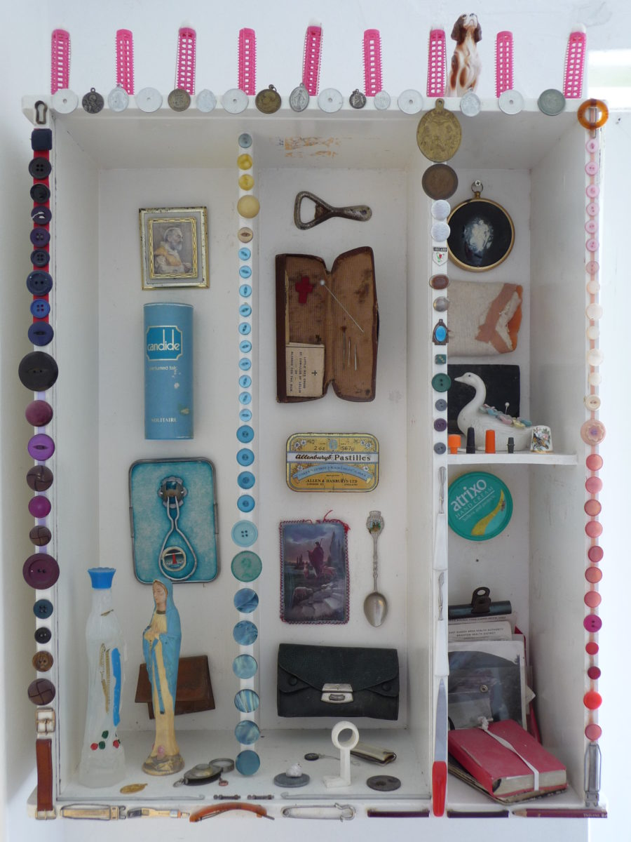 210 || 794 || Nanny Allen's Top Drawer shrine Elizabeth Mienert