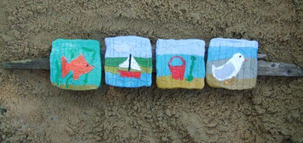 Seaside Tiles by Elizabeth Baily