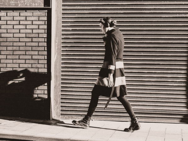 street stride.  shutter 2 by waiting