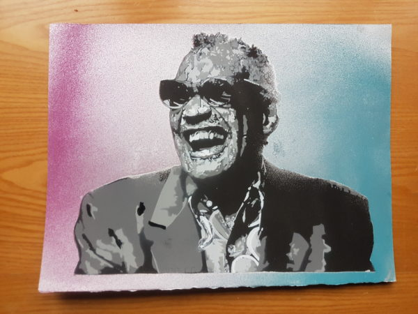 Ray Charles by LXE