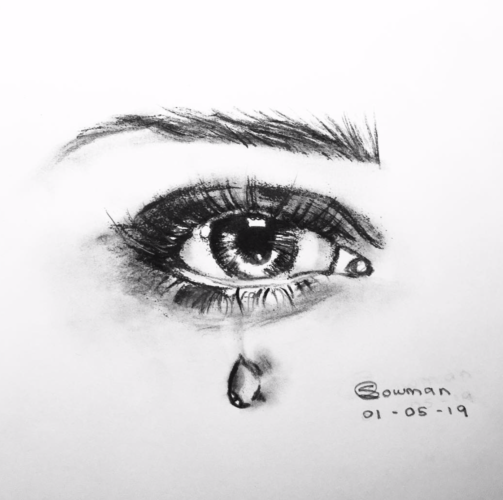 It's Not Always The Tears We Weep, That Measure The Pain We Are In. But Sometimes It's The Smiles We Fake. by Sophie Hannah Lowman