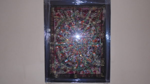 VOODOO-1-50cm-x-98cm-floating-box-frame-.jpg by Blair McCormick
