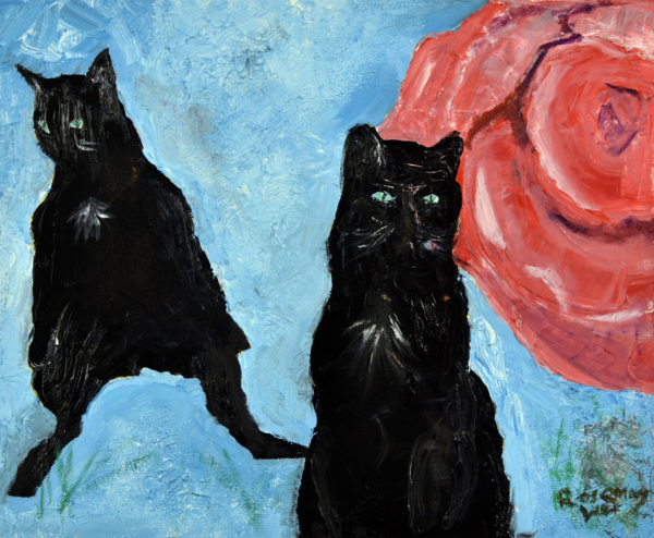 Cats by Rosemary Lee