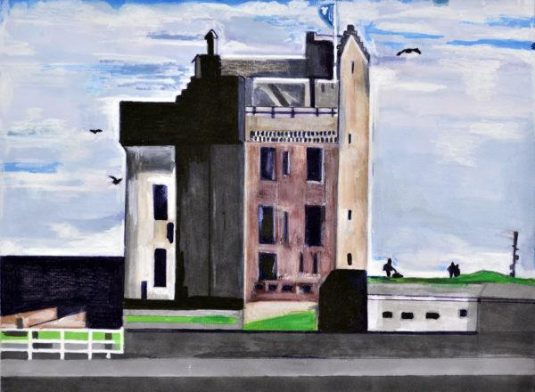 Broughty Ferry Castle by Lorraine McNeil