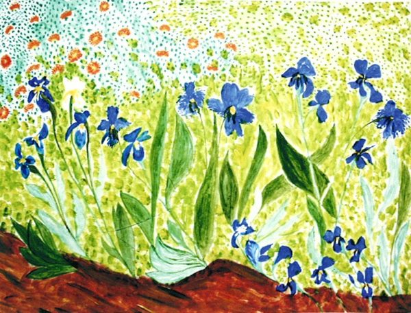 After Van Gogh by Angela Fincham