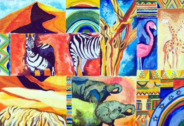 Africa by Helen Shield