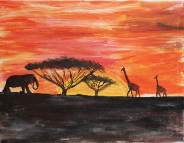 African Animals by Ben David