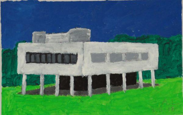 le Corbusier by Alan Lesslie