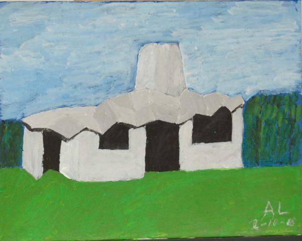 Maggie Centre by Alan Lesslie