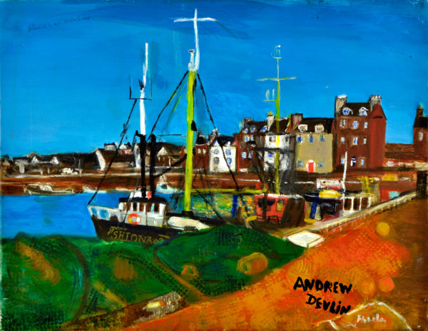 Arbroath Harbour by Andrew Devlin