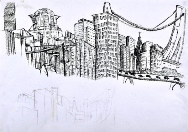 Cityscape by Naomi Rimmer
