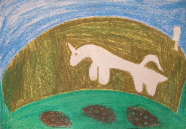 barry_gilliam_chalk_horse by Barry Gilliam