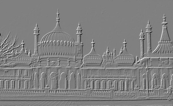 Brighton Pavilion Embossed by Bailey Johnson
