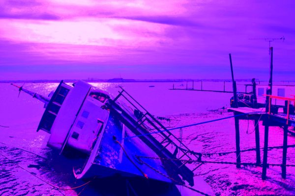 Sunk at Burnham by Burnham Jetty