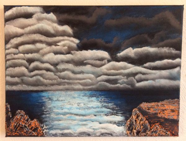 Jack's Seascape by Sharon  Staten