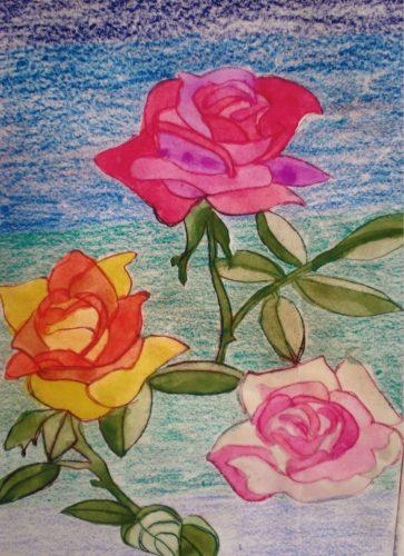 Roses by Debbie Ellis