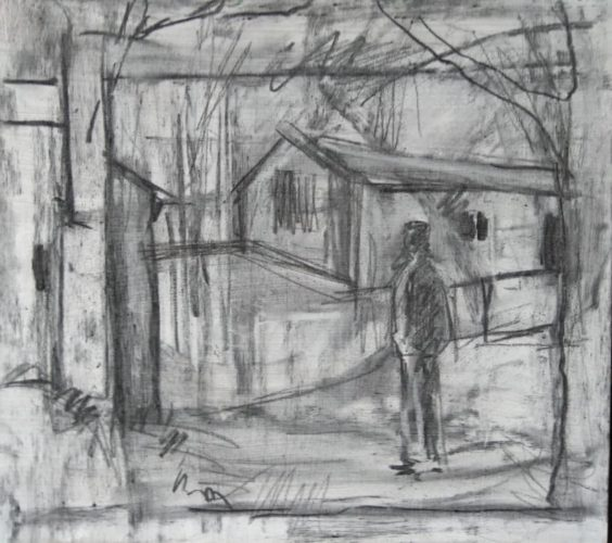 """deserted-camp"" by A Coventry scene"
