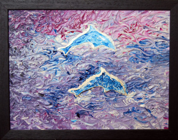 Dolphins by neville bottomley