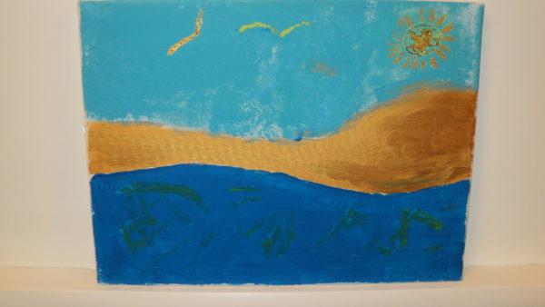the beach by jojo1980