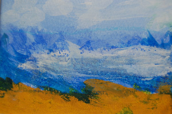 Abstract Landscape by Charlotte Booth