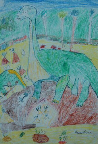 Dinosaur by Kevin Dunn
