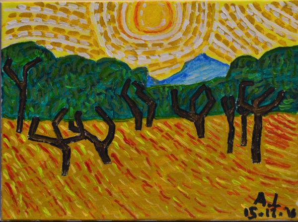 Van Gogh by Alan Lesslie