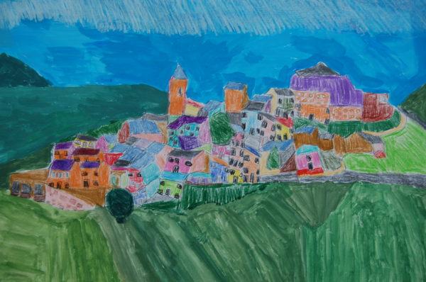 Spanish Village by Helen Kinloch