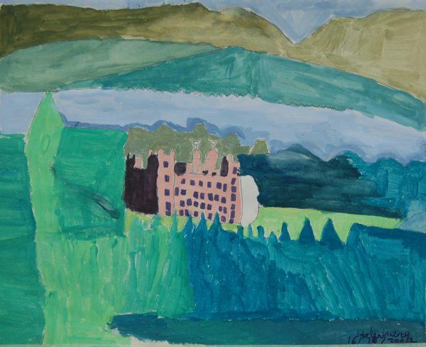 The Vampire Castle by Helen Kinloch