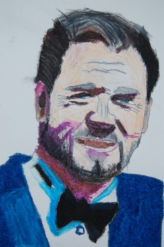 Russell Crowe by Dougal Kilpatrick