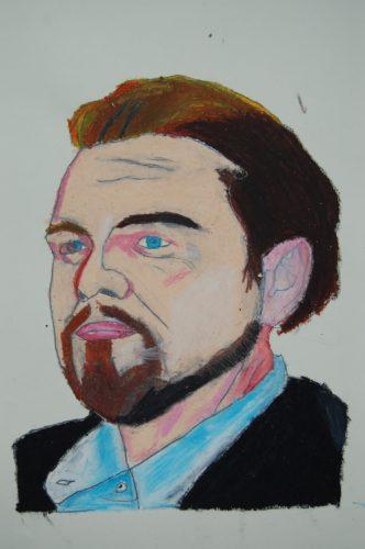 Leonardo di Caprio by Dougal Kilpatrick