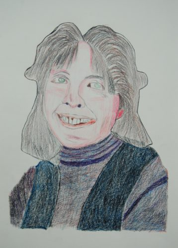 Diane Keaton by Dougal Kilpatrick