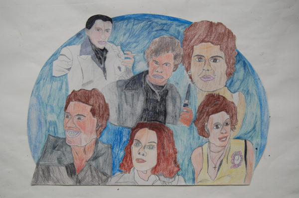 Cast of Saturday Night Fever by Dougal Kilpatrick