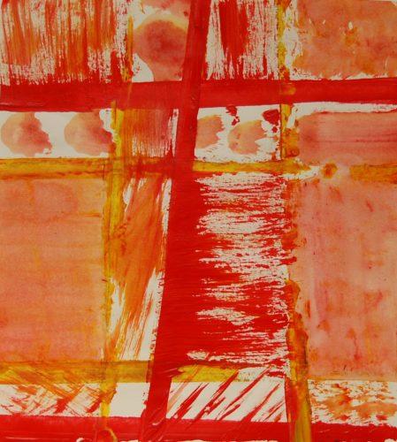 Acrylic Tartan Print in Texture by MM