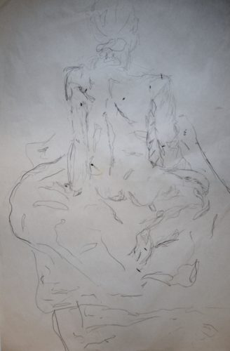 Still Life Drawing (A Woman's Body Measurements) by MM