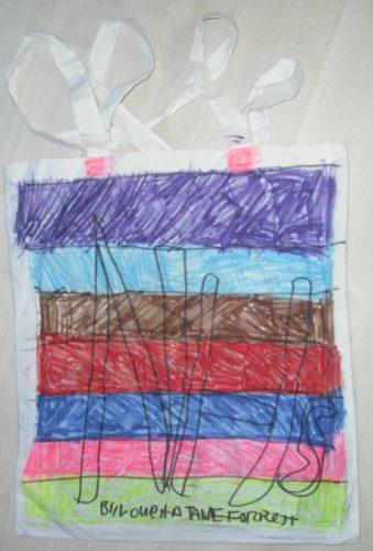 Art Bag by Louella Forrest