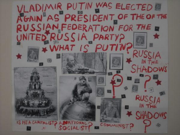Putin by Shaun Quirk