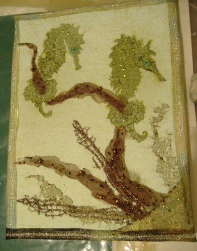 seahorses by widow twanky