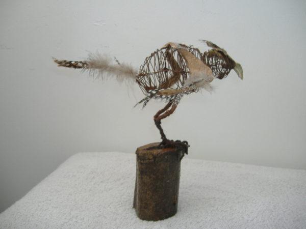wire bird by BREATHE