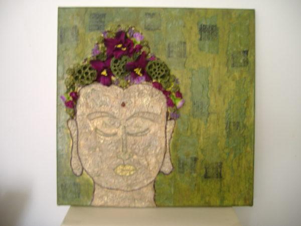 purple buddha by BREATHE