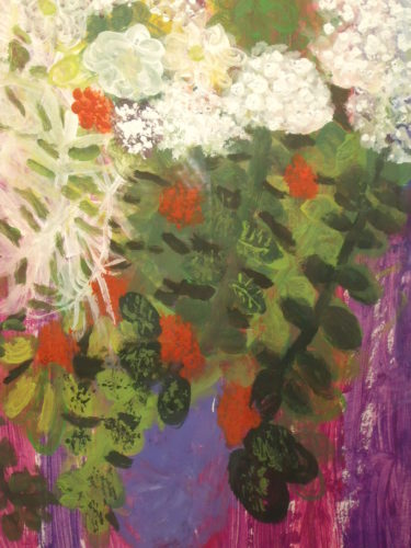Summer Flowers by Julie Hurman