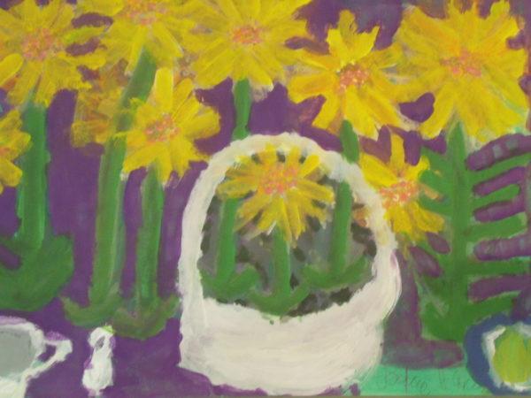 Flower Basket by Julie Hurman
