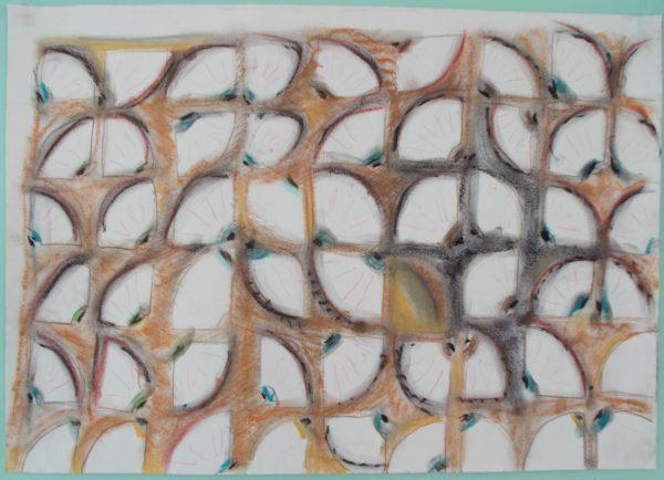 eye like patterns by Tom Stanford