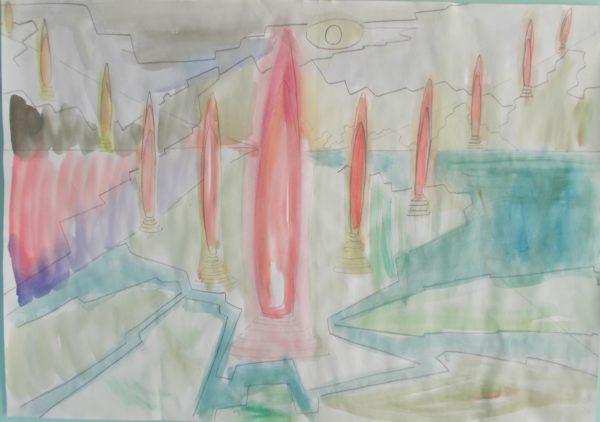 obelisk by Tom Stanford