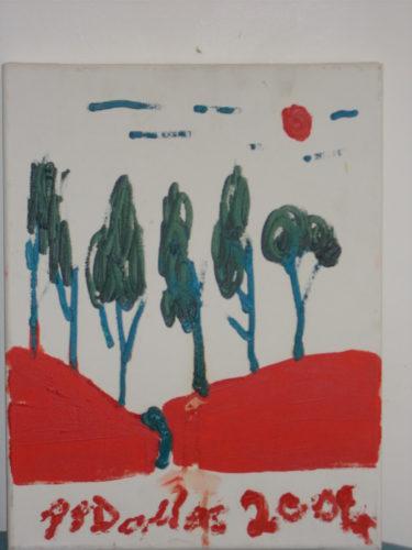 Trees on Blood by Stewart Dallas