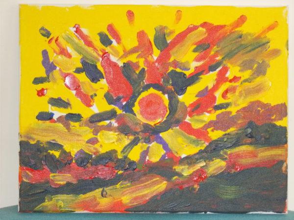 Expressive Sunset by Stewart Dallas