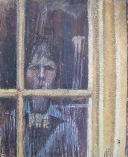 Self Portrait by Philip Adshead