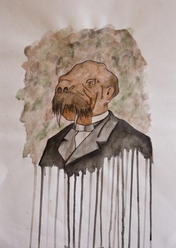 Walrus man by Joe Mcgwynn
