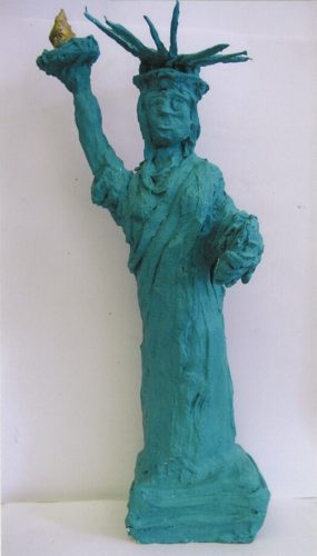 Statue of Liberty by Elizabeth Morris