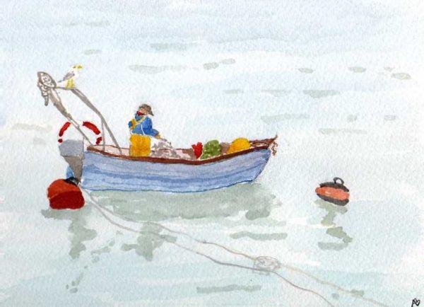 Fisherman by Alexandra Baily