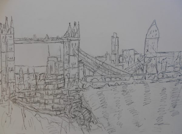 Tower Bridge by Francis Tuesdale